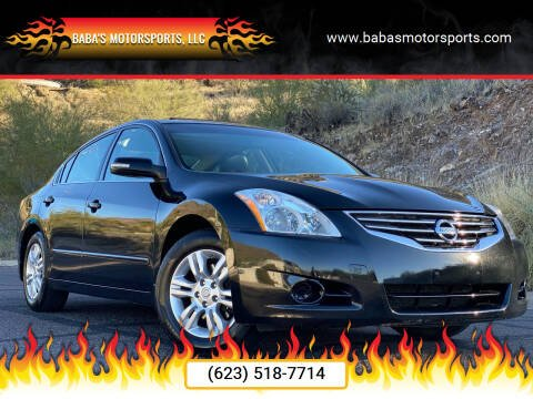 2010 Nissan Altima for sale at Baba's Motorsports, LLC in Phoenix AZ