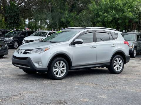 2013 Toyota RAV4 for sale at Bargain Auto Sales in West Palm Beach FL
