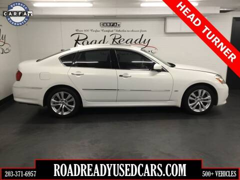 2009 Infiniti M35 for sale at Road Ready Used Cars in Ansonia CT