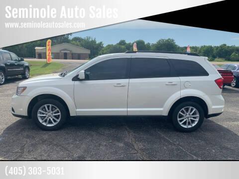 2014 Dodge Journey for sale at Seminole Auto Sales in Seminole OK