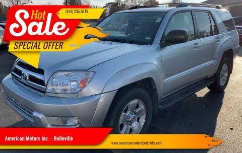 2005 Toyota 4Runner for sale at American Motors Inc. - Belleville in Belleville IL