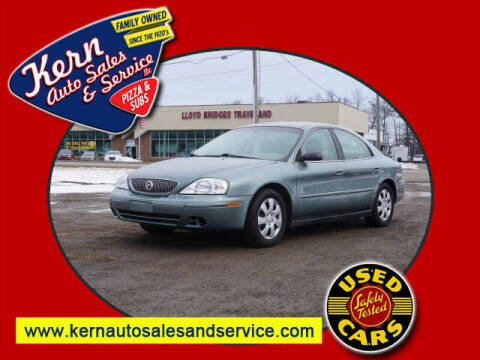2005 Mercury Sable for sale at Kern Auto Sales & Service LLC in Chelsea MI