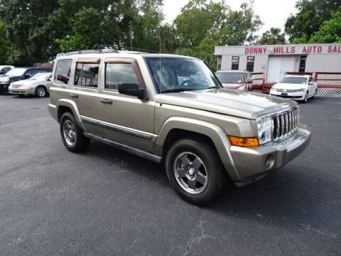 2006 Jeep Commander for sale at DONNY MILLS AUTO SALES in Largo FL