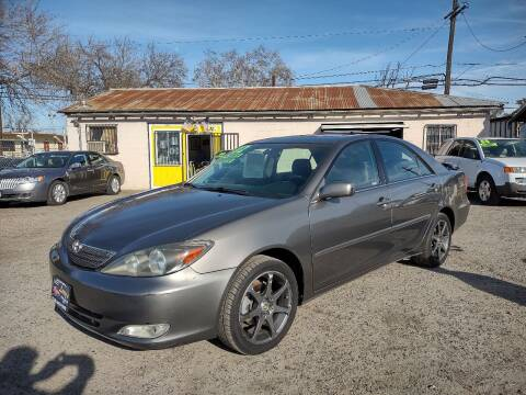 2002 Toyota Camry for sale at Larry's Auto Sales Inc. in Fresno CA