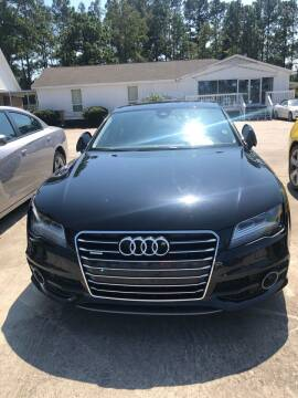 2012 Audi A7 for sale at Gralin Hampton Auto Sales in Summerville SC
