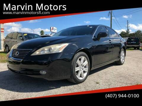 2009 Lexus ES 350 for sale at Marvin Motors in Kissimmee FL