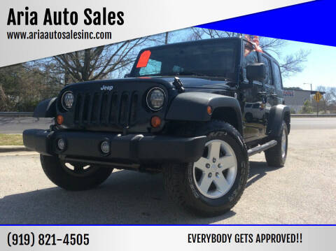 2011 Jeep Wrangler Unlimited for sale at ARIA  AUTO  SALES in Raleigh NC