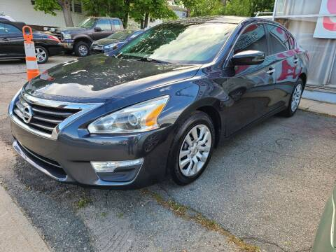 2013 Nissan Altima for sale at Devaney Auto Sales & Service in East Providence RI