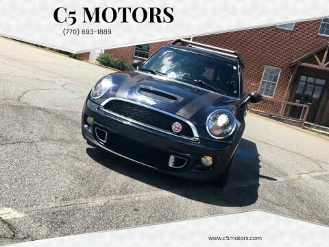 2011 MINI Cooper Clubman for sale at C5 Motors in Marietta GA
