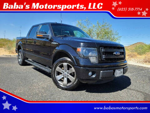 2014 Ford F-150 for sale at Baba's Motorsports, LLC in Phoenix AZ