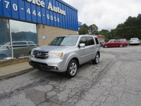 2013 Honda Pilot for sale at Southern Auto Solutions - 1st Choice Autos in Marietta GA