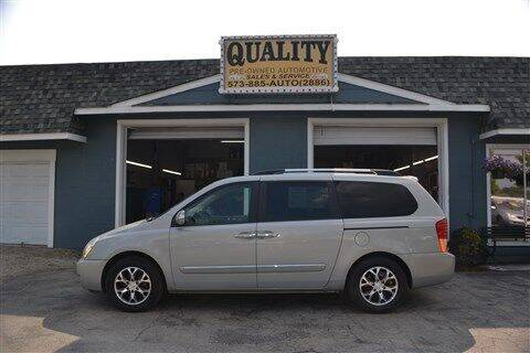 2014 Kia Sedona for sale at Quality Pre-Owned Automotive in Cuba MO