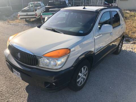 2003 Buick Rendezvous for sale at Central Automotive in Kerrville TX