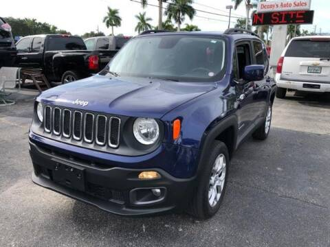 2017 Jeep Renegade for sale at Denny's Auto Sales in Fort Myers FL