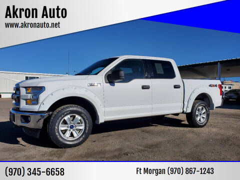 2017 Ford F-150 for sale at Akron Auto in Akron CO
