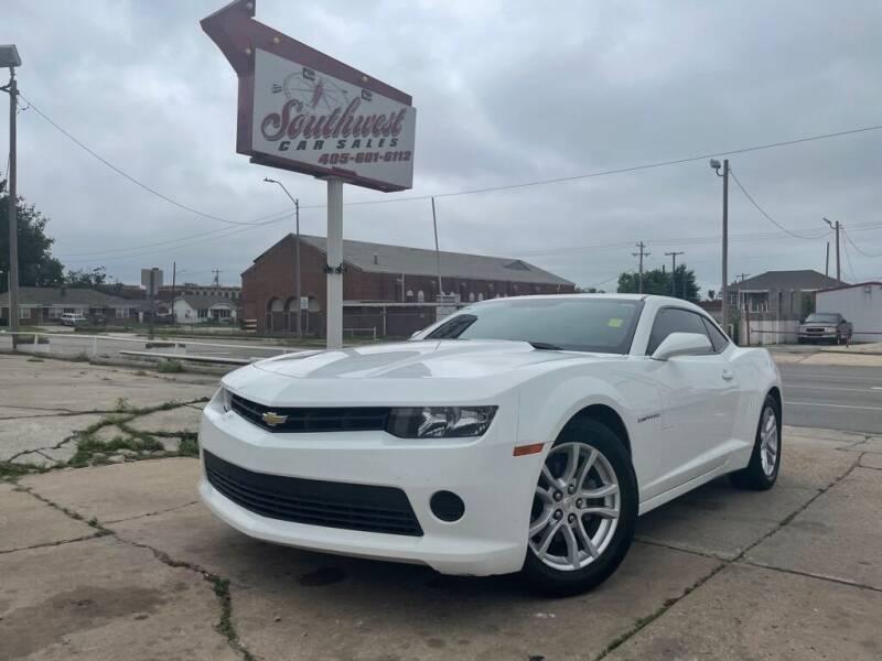 2015 Chevrolet Camaro for sale at Southwest Car Sales in Oklahoma City OK