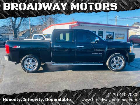 2012 Chevrolet Silverado 1500 for sale at BROADWAY MOTORS in Van Buren AR