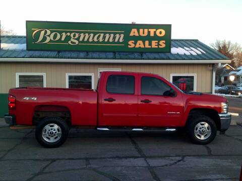 2014 Chevrolet Silverado 2500HD for sale at Borgmann Auto Sales in Norfolk NE