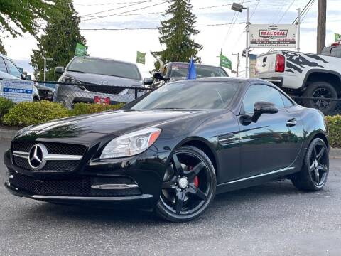 2016 Mercedes-Benz SLK for sale at Real Deal Cars in Everett WA
