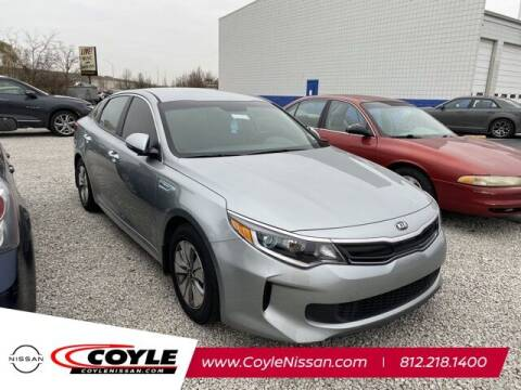 2017 Kia Optima Hybrid for sale at COYLE GM - COYLE NISSAN - Coyle Nissan in Clarksville IN
