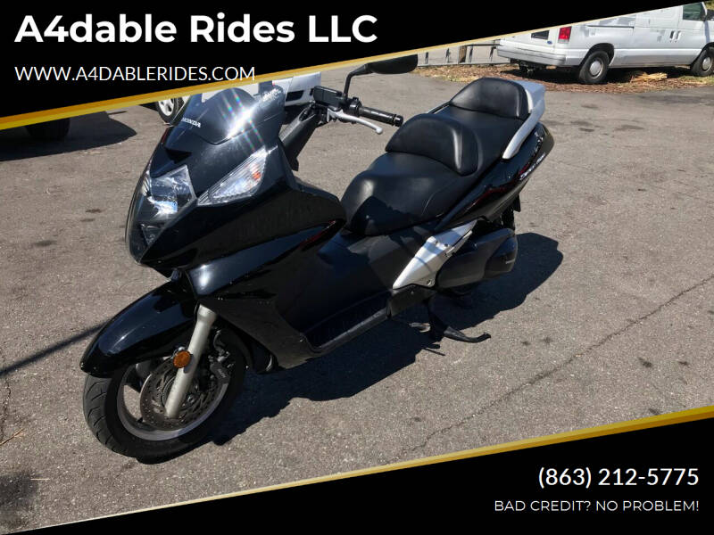 2011 Honda SLIVER WING for sale at A4dable Rides LLC in Haines City FL