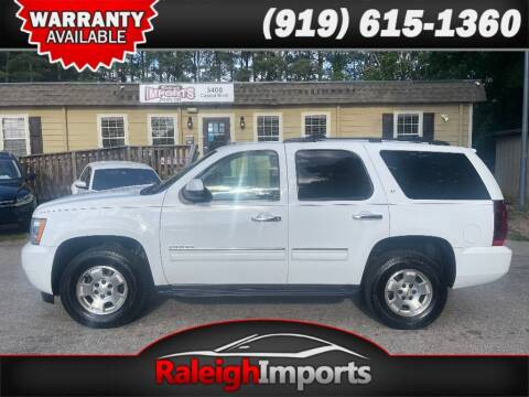 2012 Chevrolet Tahoe for sale at Raleigh Imports in Raleigh NC