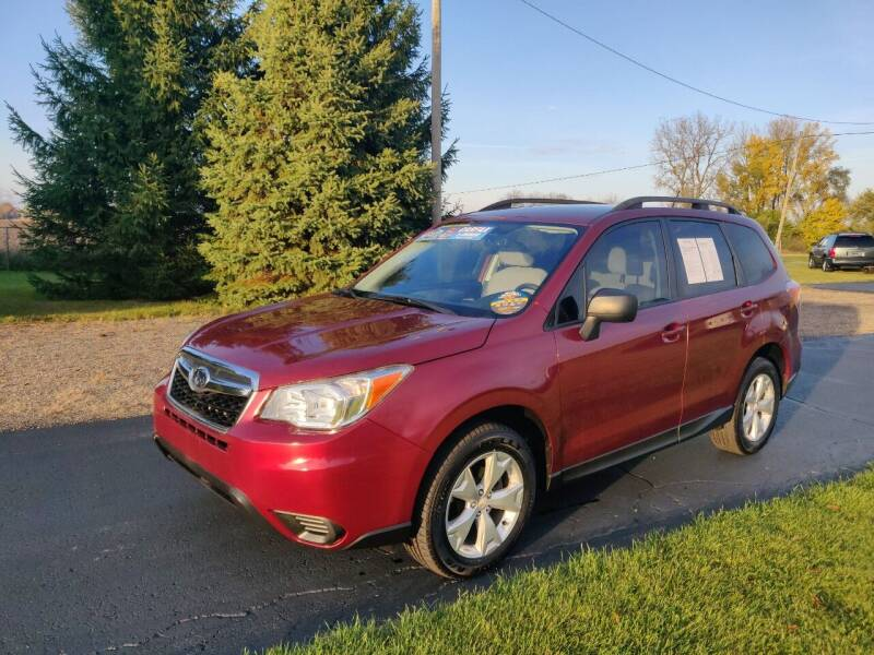 2015 Subaru Forester for sale at Carmart Auto Sales Inc in Schoolcraft MI