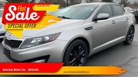 2011 Kia Optima for sale at American Motors Inc. - Belleville in Belleville IL