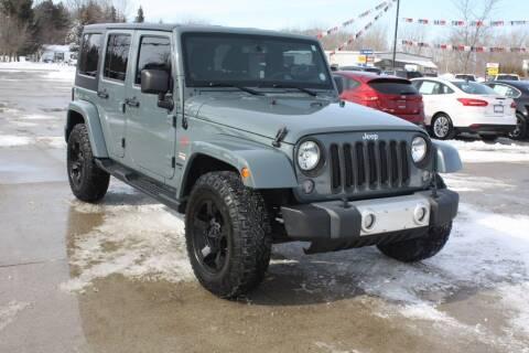 2014 Jeep Wrangler Unlimited for sale at Sandusky Auto Sales in Sandusky MI