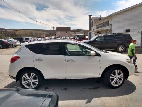 2009 Nissan Murano for sale at ROUTE 119 AUTO SALES & SVC in Homer City PA