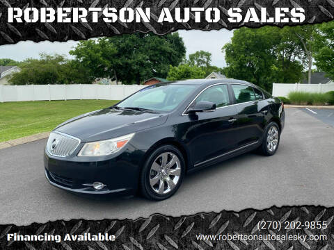 2010 Buick LaCrosse for sale at ROBERTSON AUTO SALES in Bowling Green KY