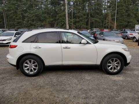 2008 Infiniti FX35 for sale at WILSON MOTORS in Spanaway WA