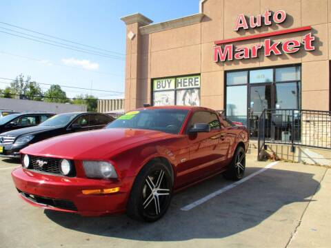 2008 Ford Mustang for sale at Auto Market in Oklahoma City OK