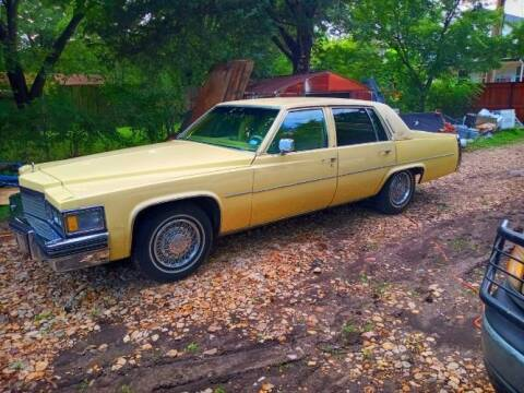 1979 Cadillac DeVille for sale at Classic Car Deals in Cadillac MI