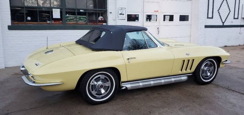 1966 Chevrolet Corvette for sale at Carroll Street Auto in Manchester NH