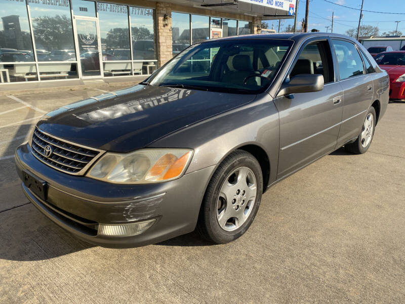 2003 Toyota Avalon for sale at Houston Auto Gallery in Katy TX