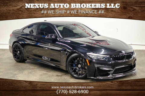 2018 BMW M4 for sale at Nexus Auto Brokers LLC in Marietta GA