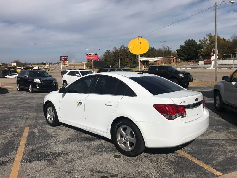 2013 Chevrolet Cruze 1LT Auto 4dr Sedan w/1SD - Lawton OK