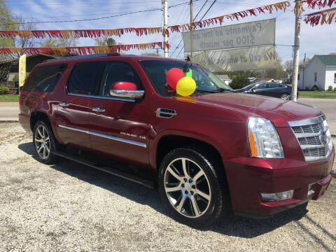 2011 Cadillac Escalade ESV for sale at Antique Motors in Plymouth IN
