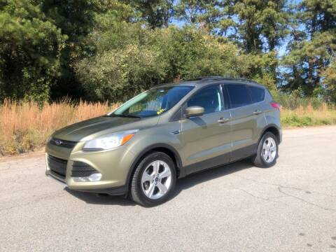 2013 Ford Escape for sale at GTO United Auto Sales LLC in Lawrenceville GA