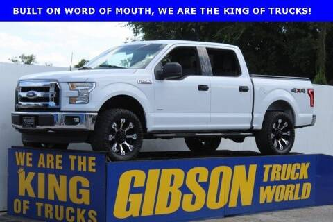 2016 Ford F-150 for sale at Gibson Truck World in Sanford FL