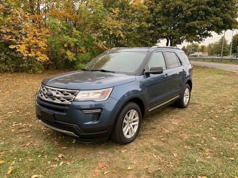 2018 Ford Explorer for sale at CItywide Auto Credit in Oregon OH