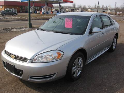 2010 Chevrolet Impala for sale at SCHUMACHER AUTO SALES & SERVICE in Park Falls WI