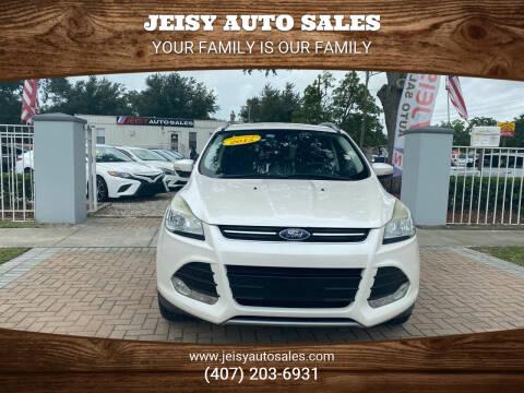 2015 Ford Escape for sale at JEISY AUTO SALES in Orlando FL