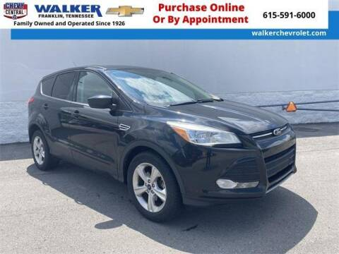 2014 Ford Escape for sale at WALKER CHEVROLET in Franklin TN