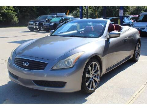 2009 Infiniti G37 Convertible for sale at Inline Auto Sales in Fuquay Varina NC