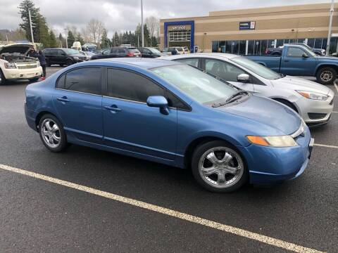 2006 Honda Civic for sale at Blue Line Auto Group in Portland OR