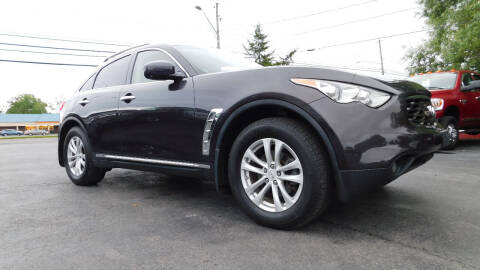 2011 Infiniti FX35 for sale at Action Automotive Service LLC in Hudson NY