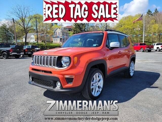 2021 Jeep Renegade for sale in Sunbury, PA