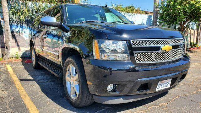 2013 Chevrolet Suburban for sale at ADVANTAGE AUTO SALES INC in Bell CA